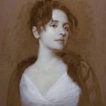 "Piambura of Heather #3 ©2011 By Adrian Gottlieb Oil on Belgian Linen Size: 20"" x 16""  S. R. BRENNEN GALLERIES SOLD"