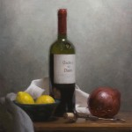 Still Life with Wine and Onion, ©2010 by Adrian Gottlieb