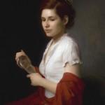 "The Last Look, ©2012 By Adrian Gottlieb Oil on Belgian Linen Size: 36"" x26""  S. R. BRENNEN GALLERIES SOLD"