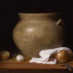 "Spanish Pot. 20""x116"", ©2013 By Adrian Gottlieb.  Oil on Linen."