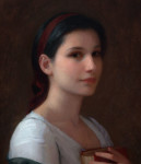 "Treasured, ©2014 By Adrian Gottlieb Oil on Belgian Linen Size: 24""x33.""  Commissioned by Fred Ross"